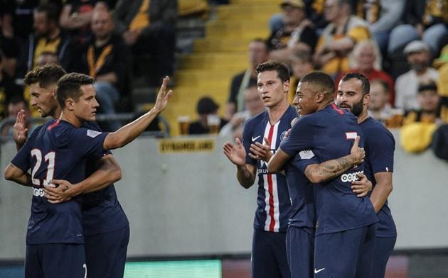 Ảnh Ander Herrera ra mắt PSG - Bóng Đá
