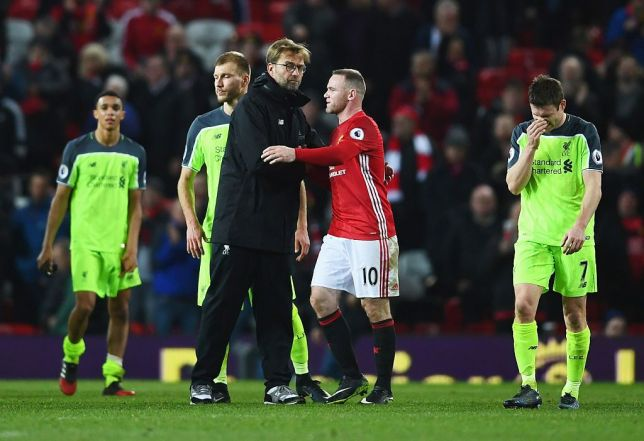 Man Utd legend Wayne Rooney is full of praise for Jurgen Klopp but aims cheeky dig at Liverpool  - Bóng Đá