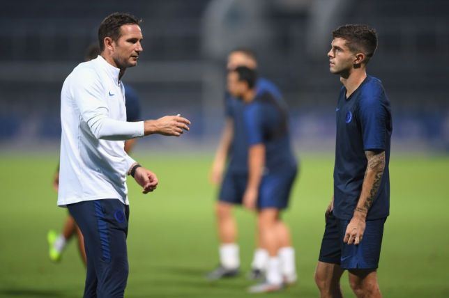 Christian Pulisic explains how he will replace Eden Hazard at Chelsea and why working with Frank Lampard is 'amazing'  - Bóng Đá
