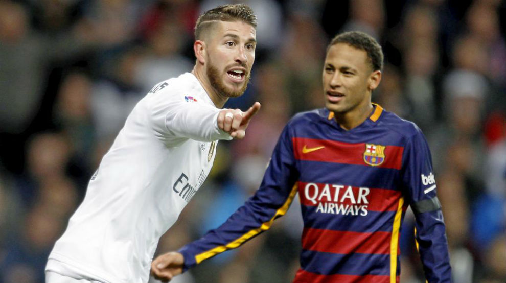 Neymar names Sergio Ramos as the best player he's faced - Bóng Đá