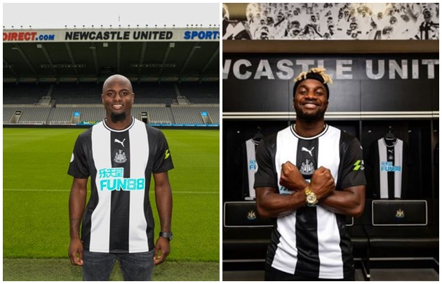 Newcastle signs Allan Saint-Maximin vs Jetro Williems - Bóng Đá