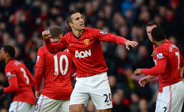 Robin van Persie on why he chose the number 20 shirt at Man Utd - Bóng Đá