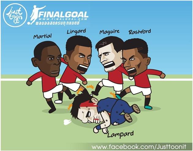 Ảnh chế Man Utd thắng Chelsea - Bóng Đá