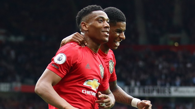 Ole Gunnar Solskjaer has hailed Mason Greenwood as the best finisher at #mufc, ahead of both Marcus Rashford and Anthony Martial - Bóng Đá