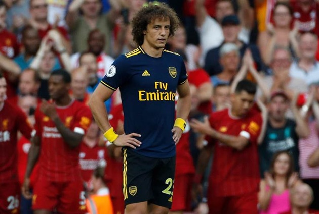 ARSENAL FANS SLAM DAVID LUIZ FOR MISTAKE - Bóng Đá