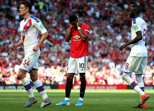 Ole Gunnar Solskjaer speaks out on Marcus Rashford's penalty miss after Manchester United's defeat to Crystal Palace   - Bóng Đá