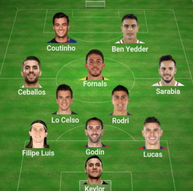 La Liga: The departing XI  - Bóng Đá