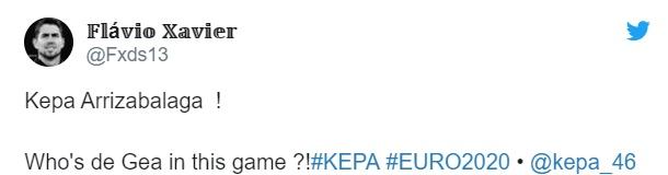 'Number one for a reason!' - Chelsea fans taunt David de Gea as Kepa makes Spain no.1 case - Bóng Đá