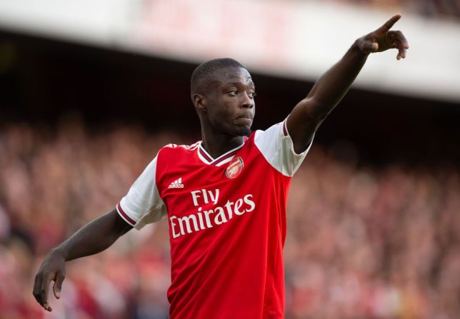 Why Arsenal star Nicolas Pepe has pulled out of Ivory Coast squad - Bóng Đá