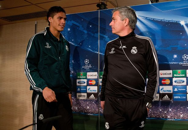 Jose Mourinho 'wanted Real Madrid star as first Man Utd signing' - Varane - Bóng Đá