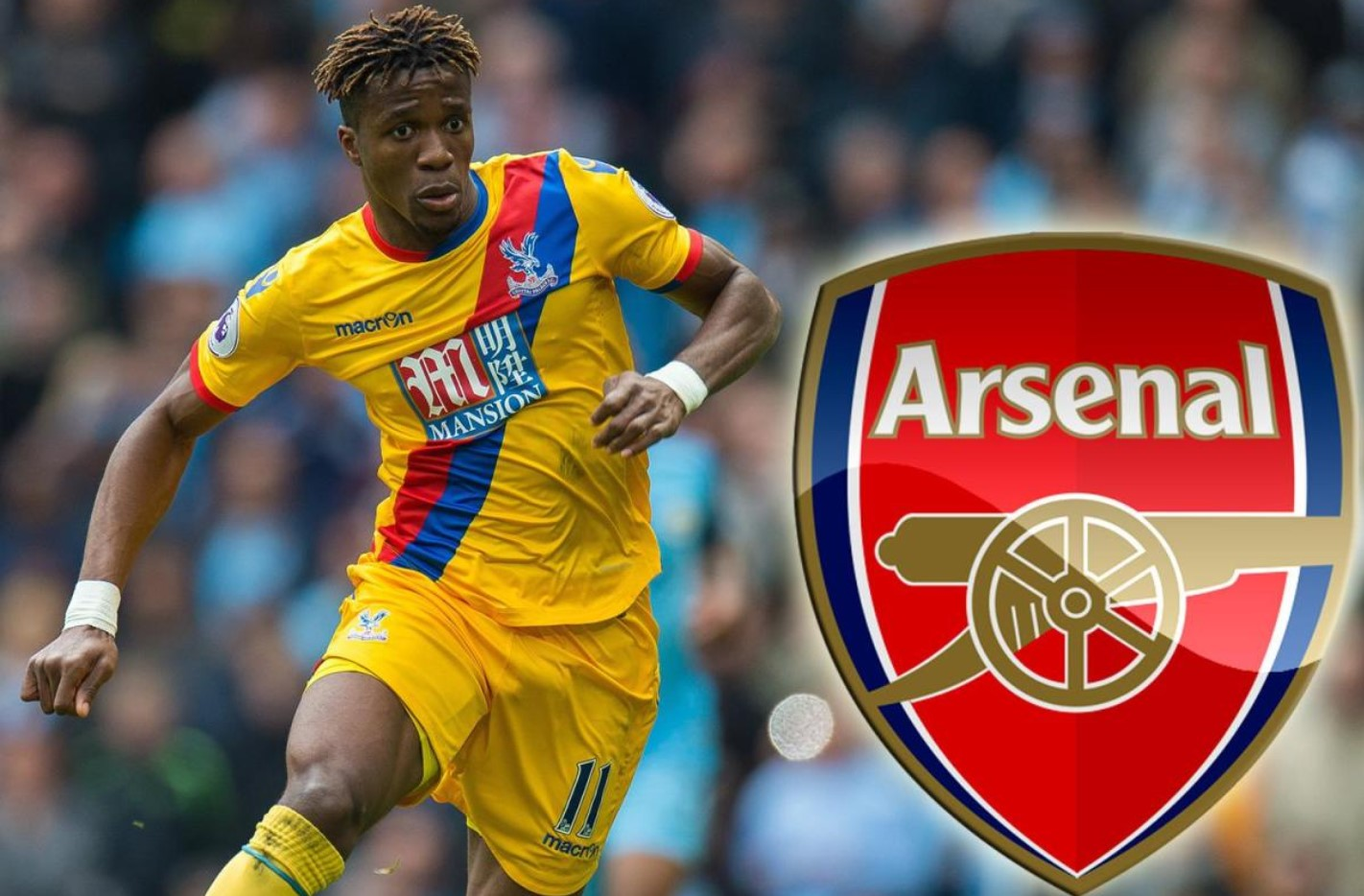 Wilfried Zaha sacks agent after failing to join Arsenal or Everton - Bóng Đá