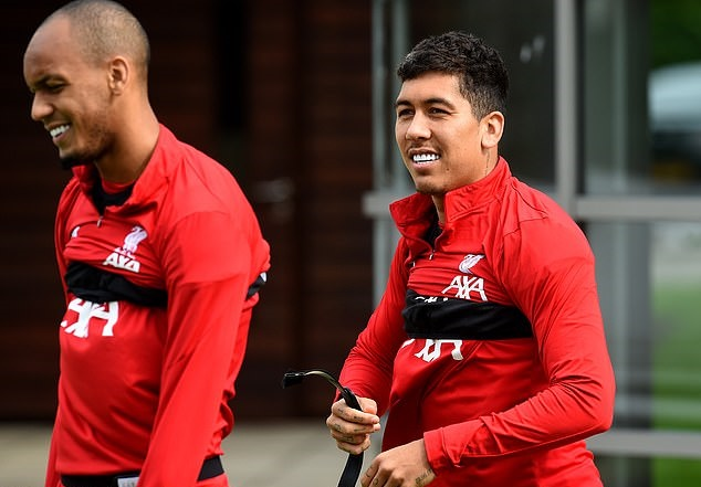 Liverpool stars regroup at Melwood with focus returning to Premier League as Alex Oxlade-Chamberlain targets a run of first-team starts - ảnh tập - Bóng Đá