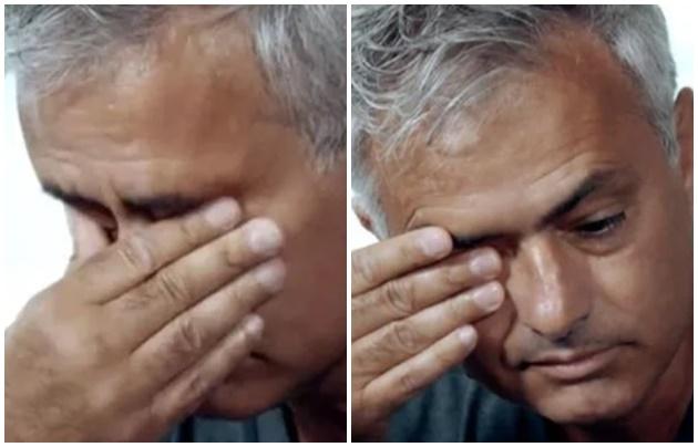 Former Man Utd boss Jose Mourinho breaks down in tears during rare emotional interview - Bóng Đá
