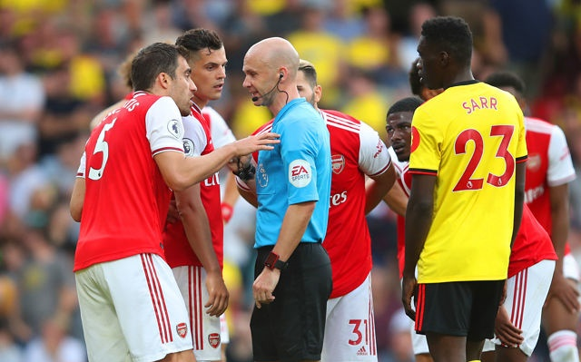 Arsenal fans react to Granit Xhaka display against Watford - Bóng Đá
