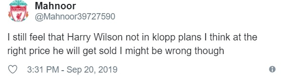 Liverpool: These fans don't think Harry Wilson will get his chance at Anfield - Bóng Đá