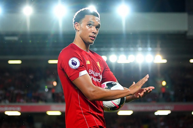 Liverpool's Trent Alexander-Arnold names the two full-backs he wants to emulate - Alves + Lahm - Bóng Đá