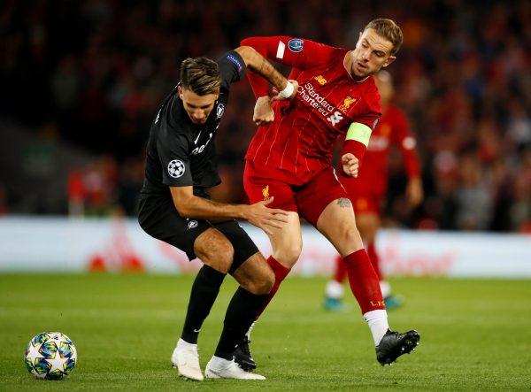 Some Liverpool fans react to Jordan Henderson's display vs Salzburg - Bóng Đá