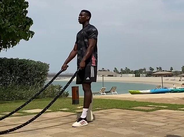 'Show off or motivation?': Paul Pogba puts in the hard work on his Dubai break - Bóng Đá