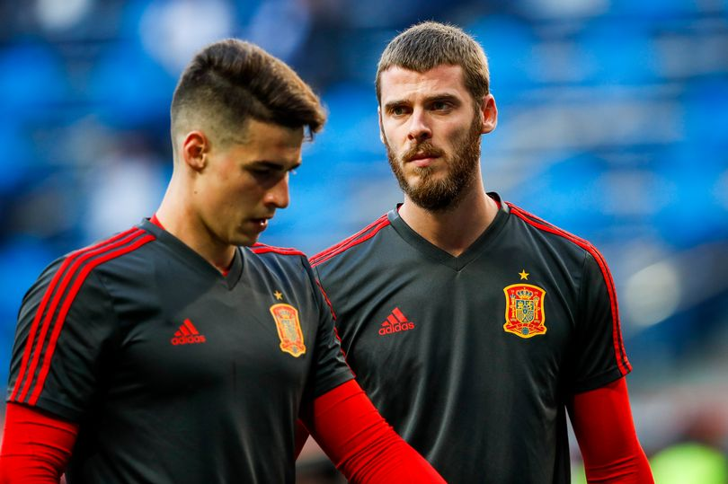 Chelsea's Kepa Arrizabalaga opens up on rivalry with Manchester United star David de Gea - Bóng Đá