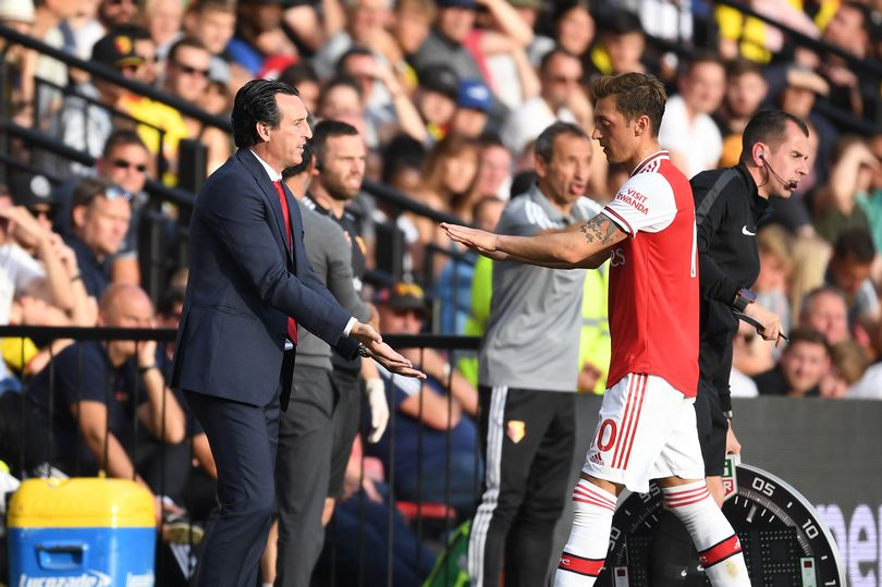 Every word Arsenal boss Unai Emery just said on Mesut Ozil - Bóng Đá