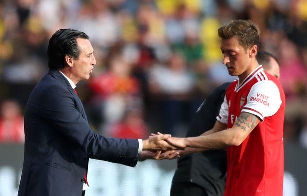 Mesut Ozil admits he's felt