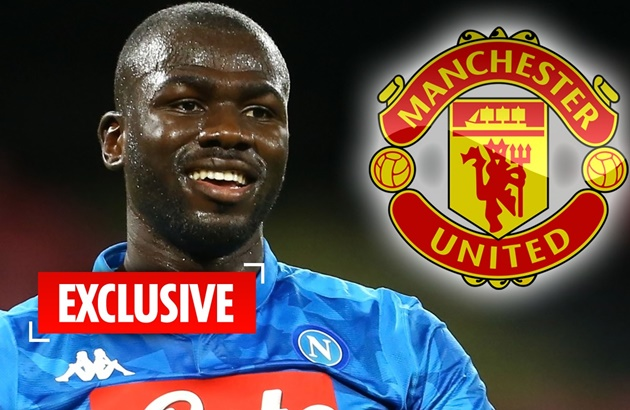 Napoli chief admits club will listen to transfer offers for Man Utd target Kalidou Koulibaly - Bóng Đá
