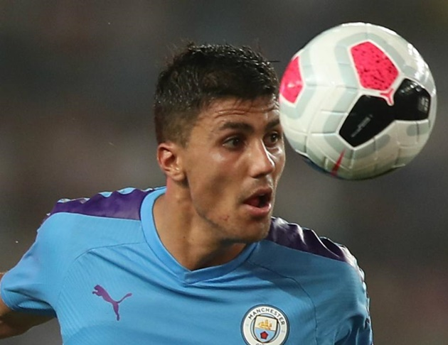Man City's Rodri sends Premier League title race message to
