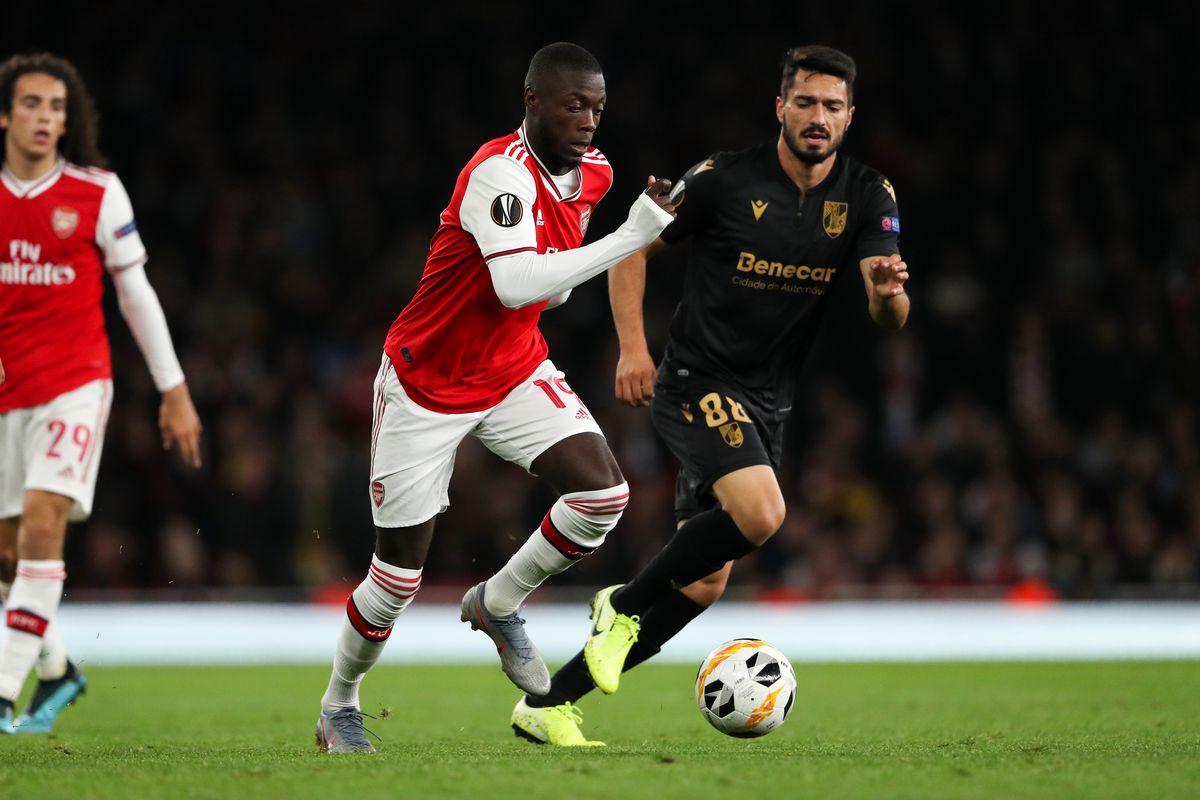 Robin van Persie noticed change in Nicolas Pepe after he scored brace in Arsenal win - Bóng Đá