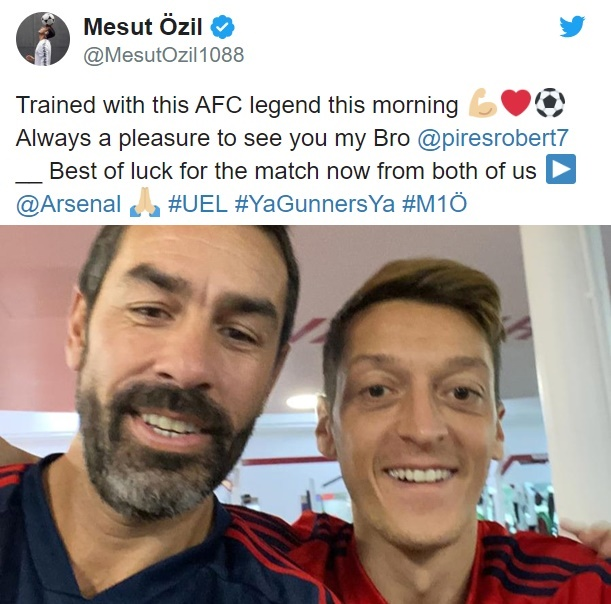 Mesut Ozil sends message to Arsenal fans after latest Unai Emery snub  - Bóng Đá