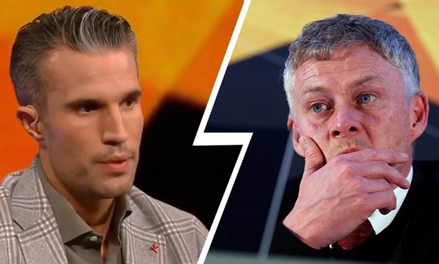 'No, it's not improving, not at all': Van Persie shocked by United stat in Partizan win - Bóng Đá