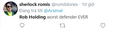 Arsenal fans react to Rob Holding's display vs Vitoria - Bóng Đá