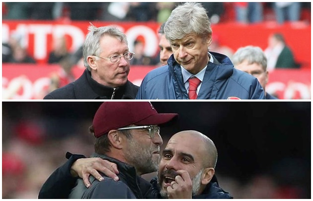 Pep on comparing Klopp and him to Ferguson-Wenger rivalry - Bóng Đá