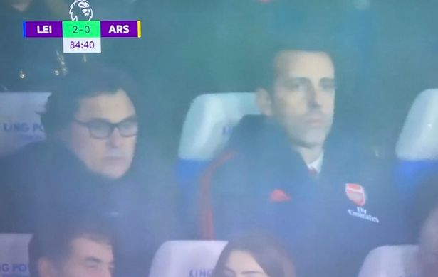 Arsenal board members watch Leicester loss amid Unai Emery sack speculation - Bóng Đá
