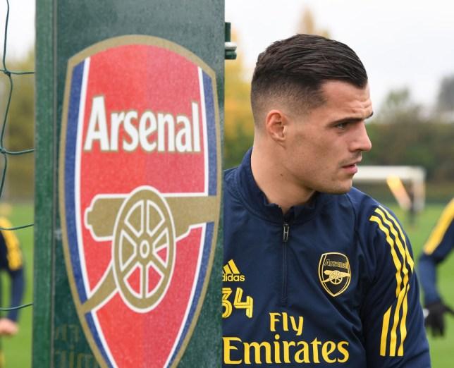 Granit Xhaka rubbishes Unai Emery's claim he isn't ready to play for Arsenal again  - Bóng Đá