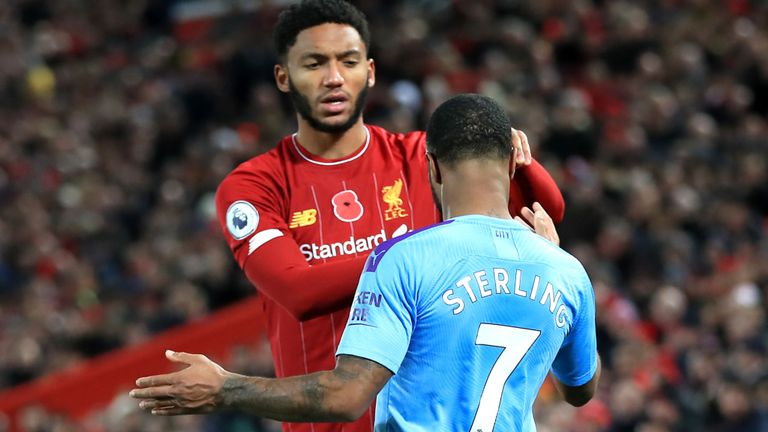 What Raheem Sterling told Joe Gomez during bust-up in England camp  - Bóng Đá