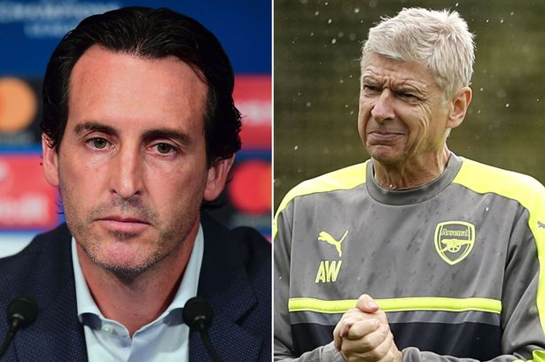 COMPARED: Arsène Wenger's last 50 Premier League games in charge of Arsenal vs. Unai Emery's first 50. - Bóng Đá