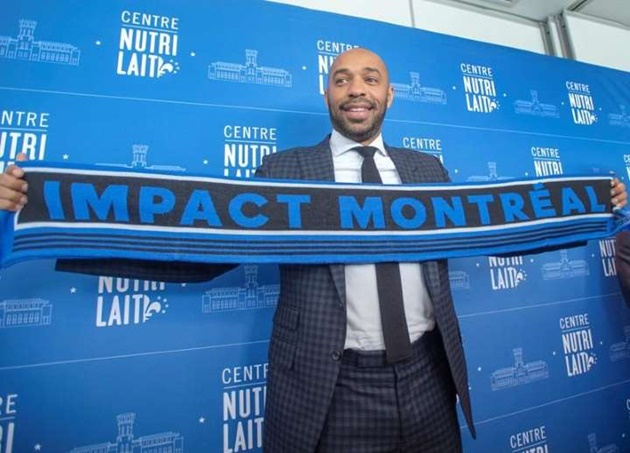 First day on the new  @impactmontreal  job for Thierry Henry - Bóng Đá