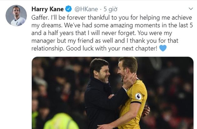 Harry Kane breaks silence on Mauricio Pochettino axe as Tottenham bring in Jose Mourinho  - Bóng Đá