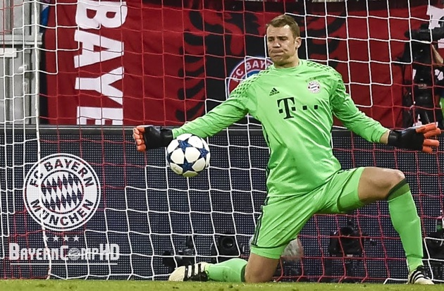 Manuel Neuer has kept more clean sheets (181) than any other goalkeeper in Europe's top five league since such data collection started in 2006/07 - Bóng Đá