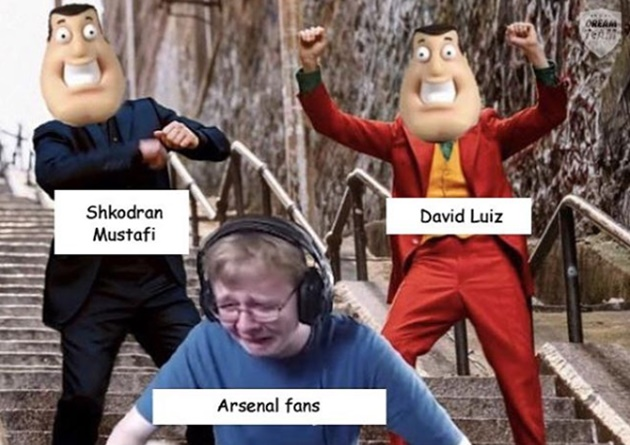 Ảnh chế MU + Arsenal hòa - Bóng Đá