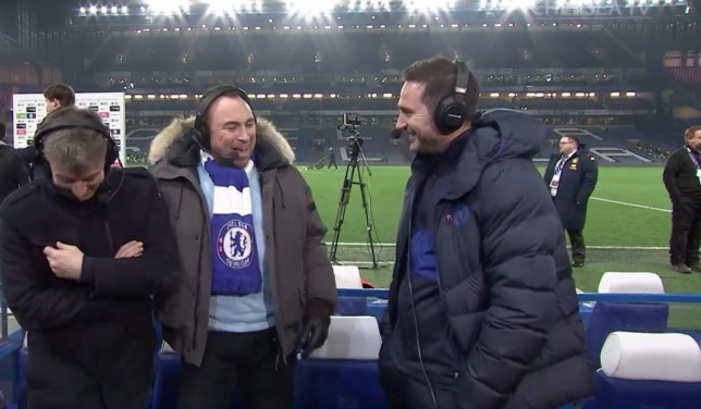 Frank Lampard reacts to Tottenham's defeat to Manchester United after Chelsea beat Aston Villa - Bóng Đá