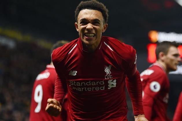 Nine stat leader top fives for Liverpool - Bóng Đá