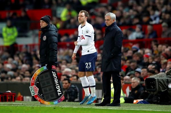 Mourinho on Eriksen future - Bóng Đá