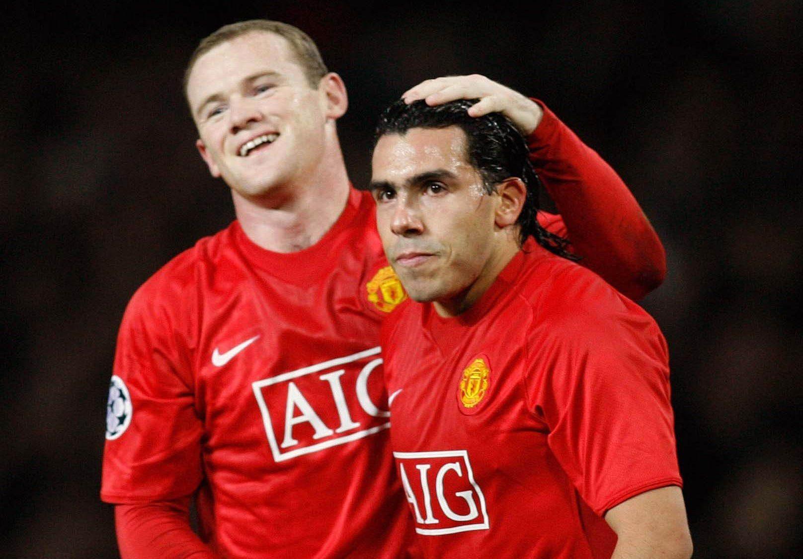 Carlos Tevez reveals Wayne Rooney lent him a Lamborghini after he showed up to training in an Audi  - Bóng Đá