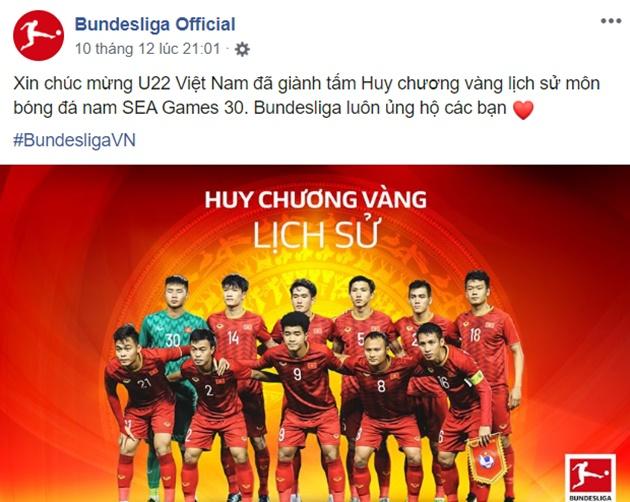 La Liga và Bundesliga chúc mừng U22 VN - Bóng Đá
