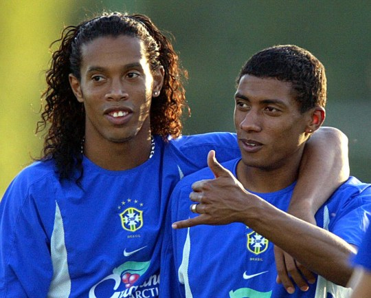 How Ronaldinho tricked World Cup winner Kleberson to sign for Manchester United  - Bóng Đá