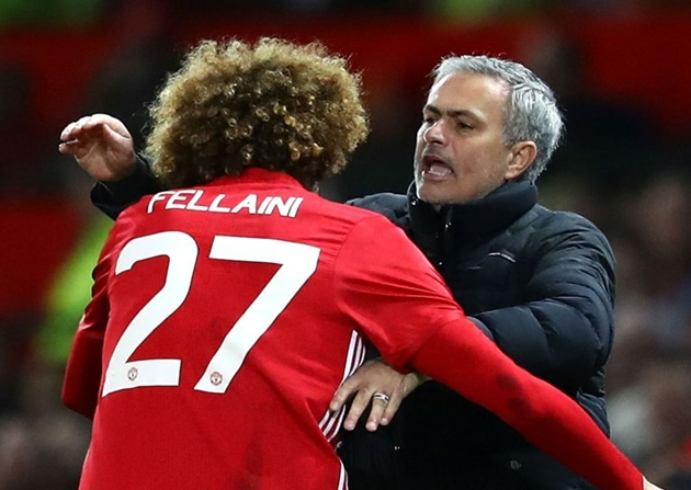 Fellaini rules out Mourinho reunion at Tottenham in January - Bóng Đá