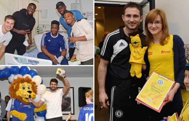 Chelsea revealed as most charitable club after donating over £7.5m in 12 months - Bóng Đá
