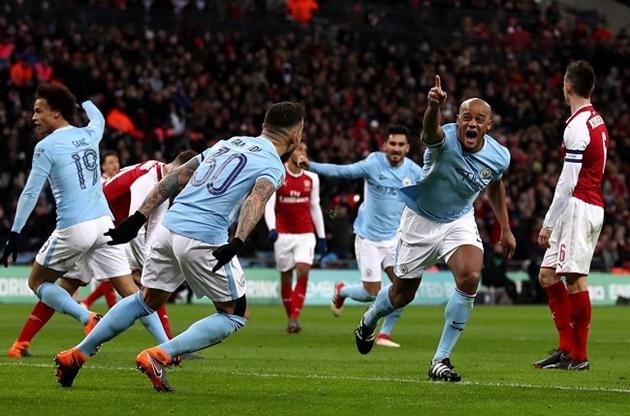 10 thống kê Arsenal - Man City - Bóng Đá