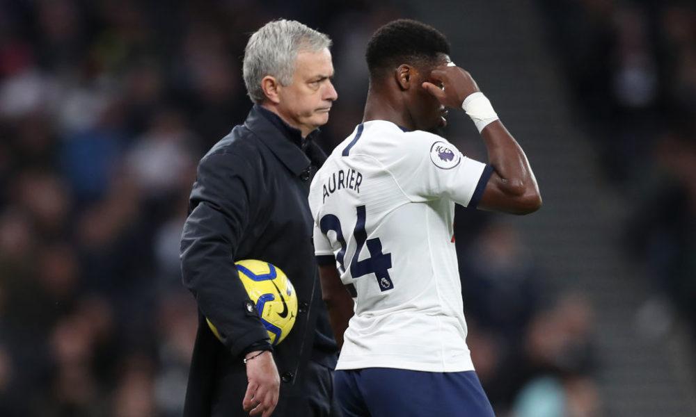 Jose Mourinho warns Tottenham's Serge Aurier over 'mocking managers' - Bóng Đá
